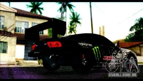 Nissan 180SX Monster Energy Spoiler para GTA San Andreas esquerda vista