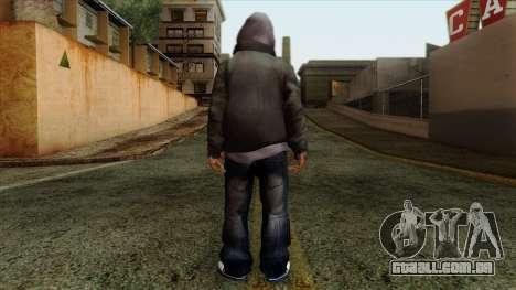 GTA 4 Skin 16 para GTA San Andreas segunda tela