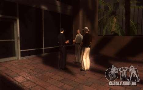 O renascimento da LVPD para GTA San Andreas quinto tela