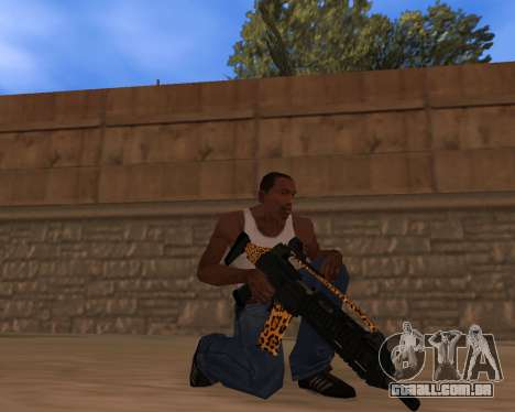 Jaguar Weapon pack para GTA San Andreas segunda tela