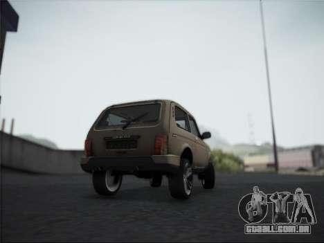 Lada Urdan para GTA San Andreas vista direita