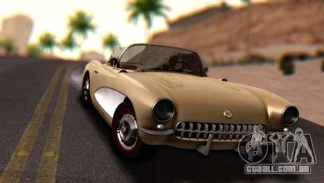 Chevrolet Corvette C1 1962 Dirt para GTA San Andreas vista direita