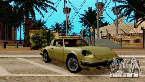 ENB fracas e médias PC SA:MP para GTA San Andreas sétima tela