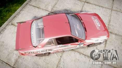 Nissan 240SX S13 D. Yoshihara para GTA 4 vista direita