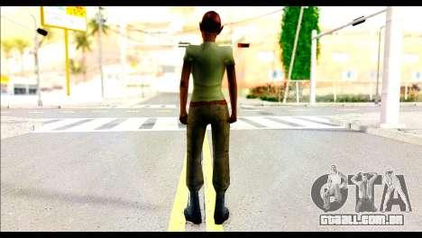 Ginos Ped 35 para GTA San Andreas segunda tela