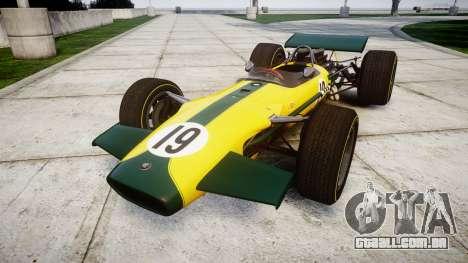 Lotus Type 49 1967 [RIV] PJ19-20 para GTA 4