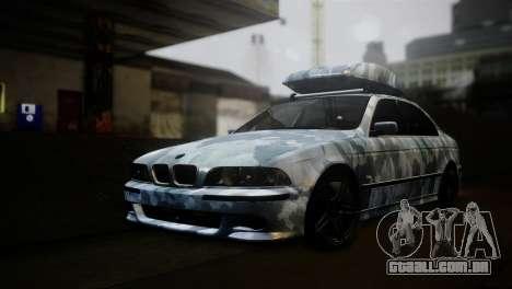BMW M5 E39 Camouflage para GTA San Andreas