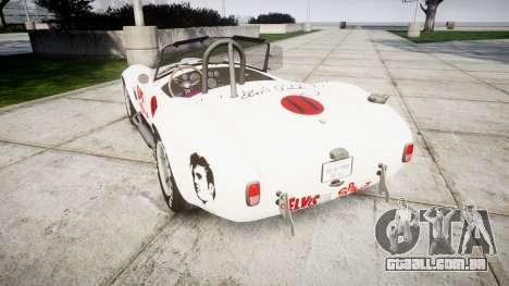 AC Cobra 427 PJ3 para GTA 4 traseira esquerda vista