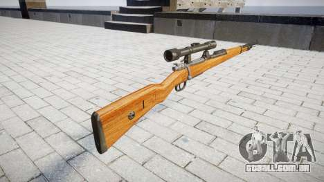 A revista rifle Karabiner 98k para GTA 4 segundo screenshot