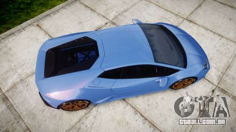 Lamborghini Huracan LP610-4 2015 para GTA 4 vista direita