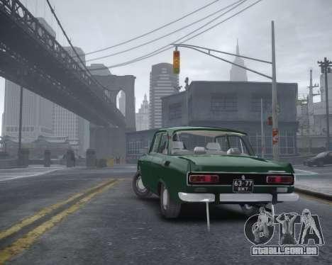 AZLK 2140 para GTA 4 esquerda vista