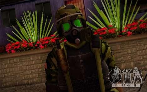 Hecu Soldiers 4 from Half-Life 2 para GTA San Andreas terceira tela