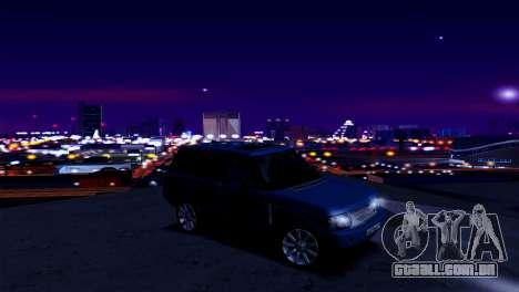 ENB fracas e médias PC SA:MP para GTA San Andreas por diante tela