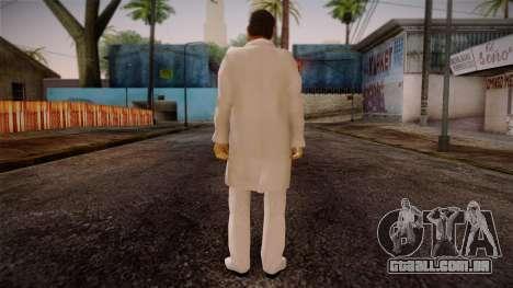 Gedimas Yakuza Boss Skin HD para GTA San Andreas segunda tela