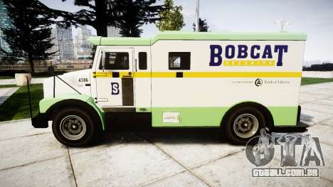GTA V Brute Securicar para GTA 4 esquerda vista