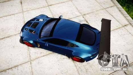 Aston Martin V12 Vantage GT3 2012 para GTA 4 vista direita