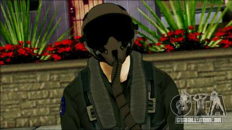 USA Jet Pilot from Battlefield 4 para GTA San Andreas terceira tela