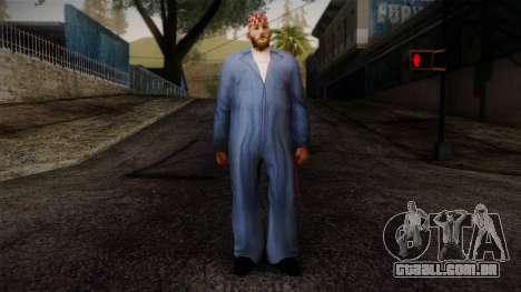 GTA San Andreas Beta Skin 19 para GTA San Andreas
