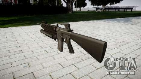 Rifle M16A2 M203 sight4 para GTA 4 segundo screenshot