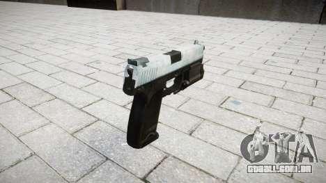 Pistola HK USP 45 gelada para GTA 4 segundo screenshot
