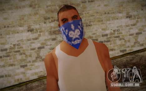 New Fam Skin 2 para GTA San Andreas terceira tela