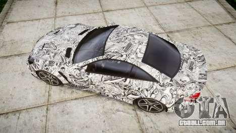 Mersedes-Benz SL65 AMG 2009 Sharpie para GTA 4 vista direita
