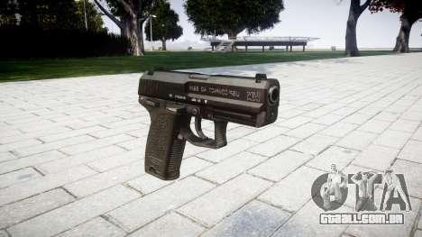 Pistola HK USP 40 para GTA 4