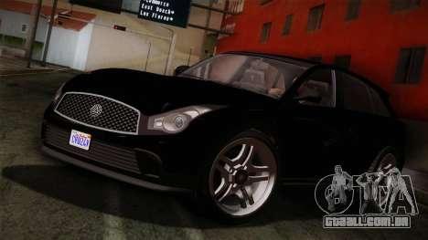 Fathom FQ2 from GTA 5 para GTA San Andreas