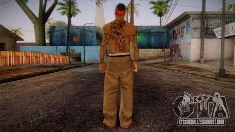 Fresno Buldogs 14 Skin 1 para GTA San Andreas segunda tela