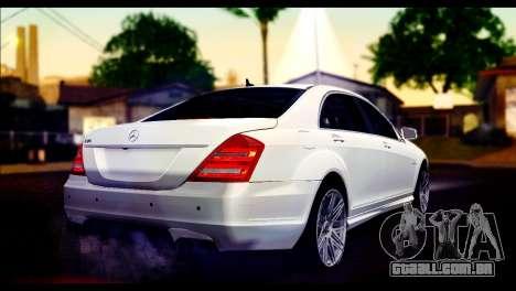 Mercedes-Benz S70 para GTA San Andreas esquerda vista