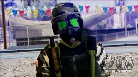 Hecu Soldier 2 from Half-Life 2 para GTA San Andreas terceira tela