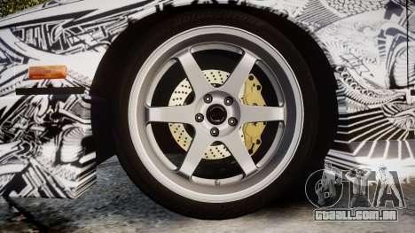 Nissan 240SX SE S13 1993 Sharpie para GTA 4 vista de volta