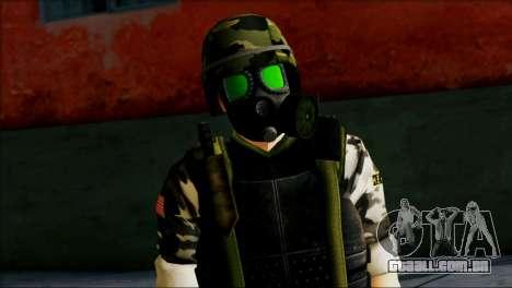 Hecu Soldier 1 from Half-Life 2 para GTA San Andreas terceira tela