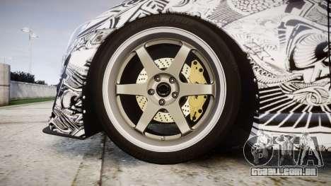 Subaru BRZ 2011 Sharpie para GTA 4 vista de volta