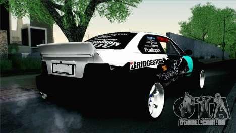 BMW M3 E36 Bridgestone v3 para GTA San Andreas esquerda vista