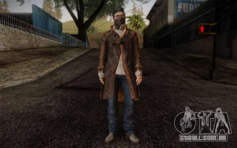 Aiden Pearce from Watch Dogs v6 para GTA San Andreas