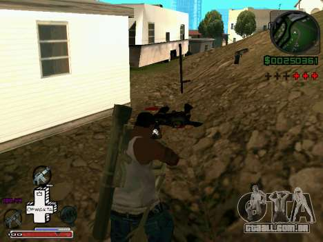 C-HUD Optiwka para GTA San Andreas terceira tela