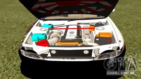 Toyota Mark 2 para GTA San Andreas traseira esquerda vista