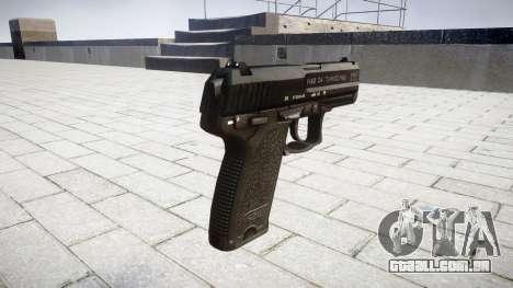 Pistola HK USP 40 para GTA 4 segundo screenshot