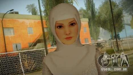 Kebaya Girl Skin v2 para GTA San Andreas terceira tela