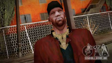 GTA San Andreas Beta Skin 16 para GTA San Andreas terceira tela