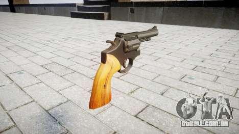 Revólver Smith & Wesson para GTA 4 segundo screenshot
