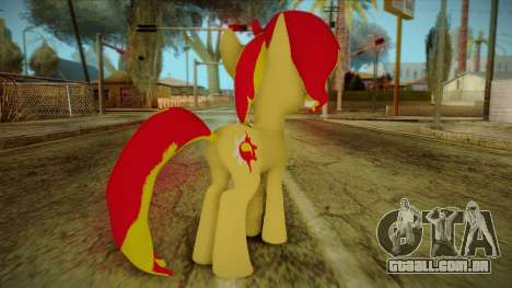 Summer Shimmer from My Little Pony para GTA San Andreas segunda tela
