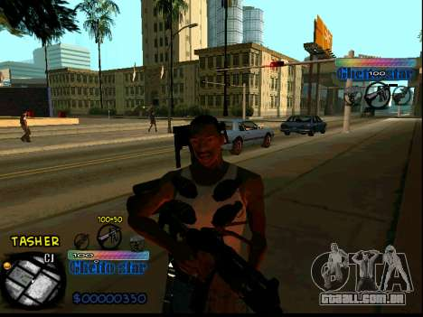 C-HUD Ghetto Star para GTA San Andreas
