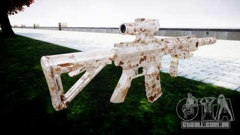 Máquina M4 Devgru para GTA 4 segundo screenshot