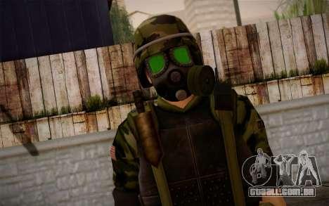 Hecu Soldier 3 from Half-Life 2 para GTA San Andreas terceira tela
