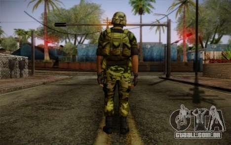 Hecu Soldiers 4 from Half-Life 2 para GTA San Andreas segunda tela