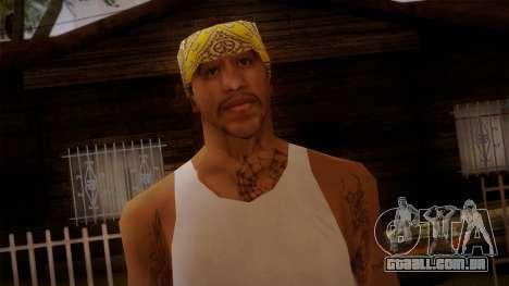 Fresno Buldogs 14 Skin 2 para GTA San Andreas terceira tela