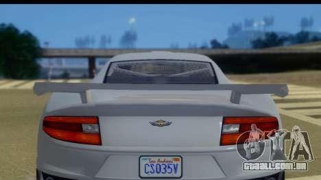 GTA 5 Dewbauchee Massacro IVF para GTA San Andreas vista direita