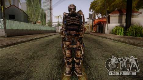 Mercenaries Exoskeleton para GTA San Andreas